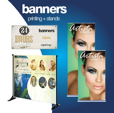 Banner printing in San Diego