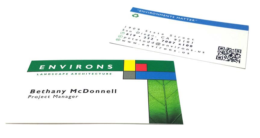 Green 100% Recycled Cards (11pt)